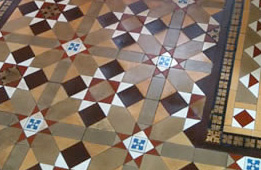 Victorian floor cleaning
